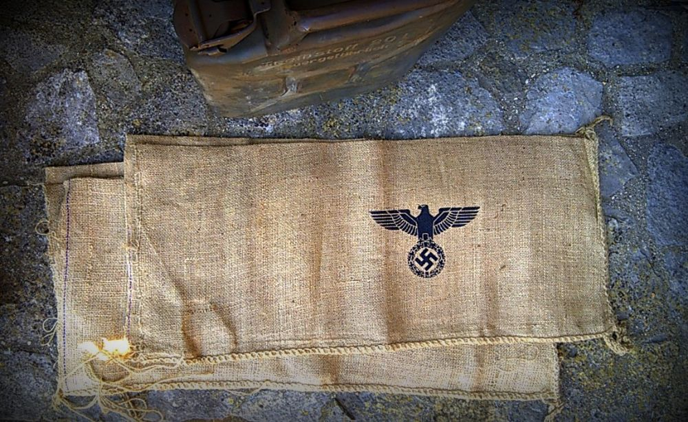 Printed Hessian and Cloth