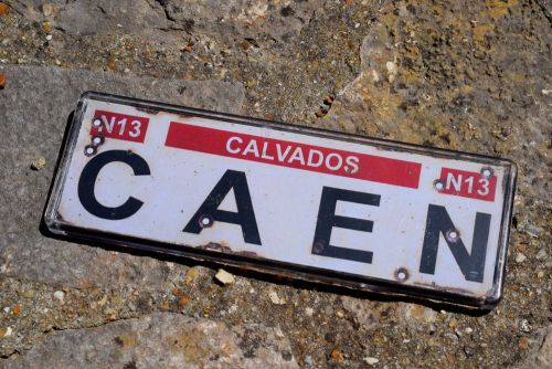 Caen Fridge Magnet