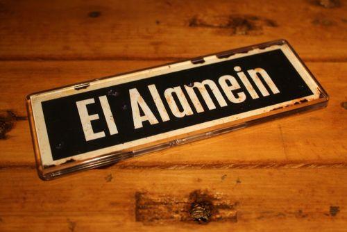 El Alamein Fridge Magnet