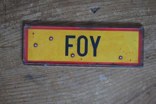 Foy Fridge Magnet