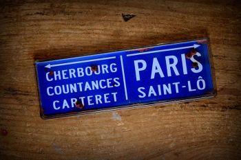 Paris - Saint-Lô. Fridge Magnet