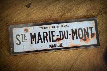 Ste. Marie du Mont Fridge Magnet