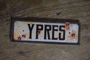 Ypres Fridge Magnet
