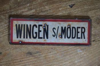 Wingen sur Moder Fridge Magnet