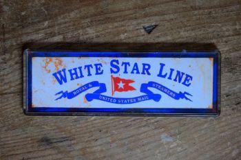 Titanic - White Star Line Fridge Magnet