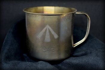1943 Stainless Steel Coffee Mug