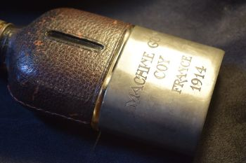 WWI Machine Gun Coy. Hipflask