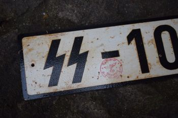 SS Number Plate