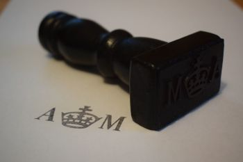 Air Ministry Rubber Stamp