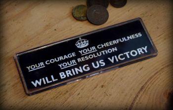 Bring Us Victory Fridge Magnet