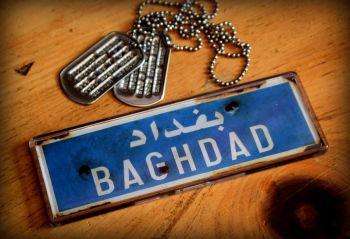 Baghdad Fridge Magnet