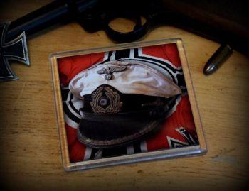 Kreigs Marine Cap-01 - Acrylic Coaster