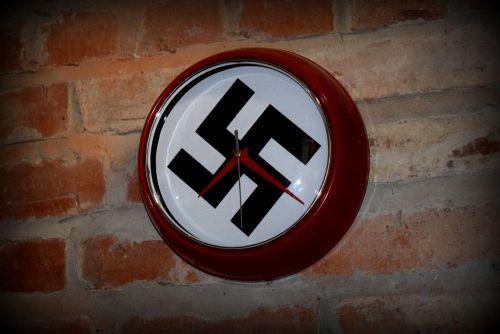 NSDAP Wall Clock 1939