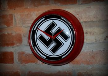 Nazi Battle Flag Wall Clock 1939