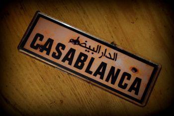 Casablanca Fridge Magnet