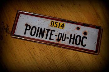 Pointe du Hoc Fridge Magnet