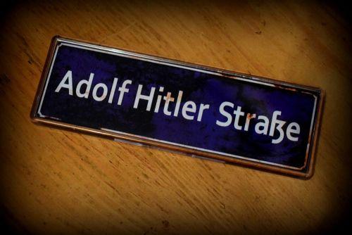 Adolf Hitlerstrasse Fridge Magnet