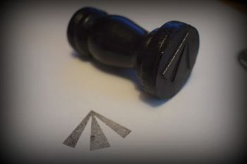 Broad Arrow (British Army) Rubber Stamp