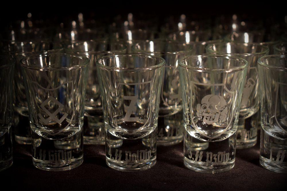 SS Div. Shot Glasses (6)