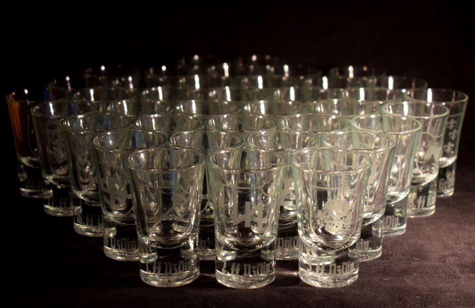 SS Div. Shot Glasses
