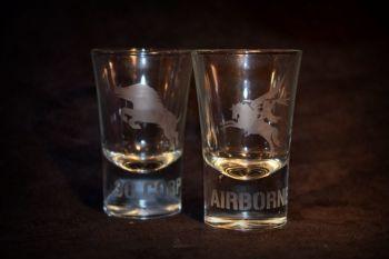Allied Div./Regt. Shot Glasses
