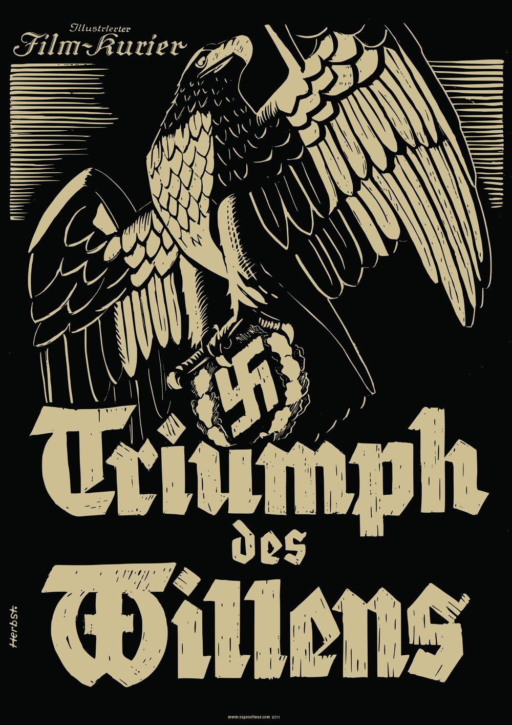 Triumph des Willens A1 Poster