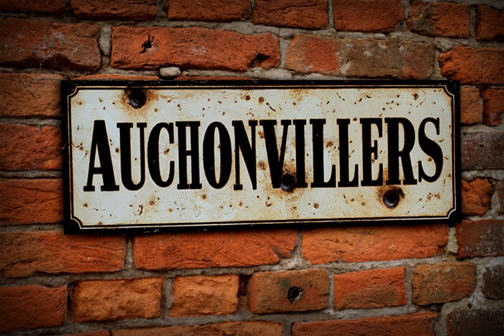 Auchonvillers Display Sign