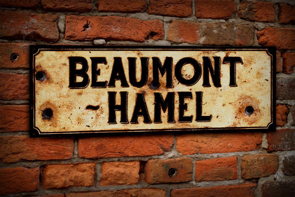 Beaumont-Hamel Display Sign