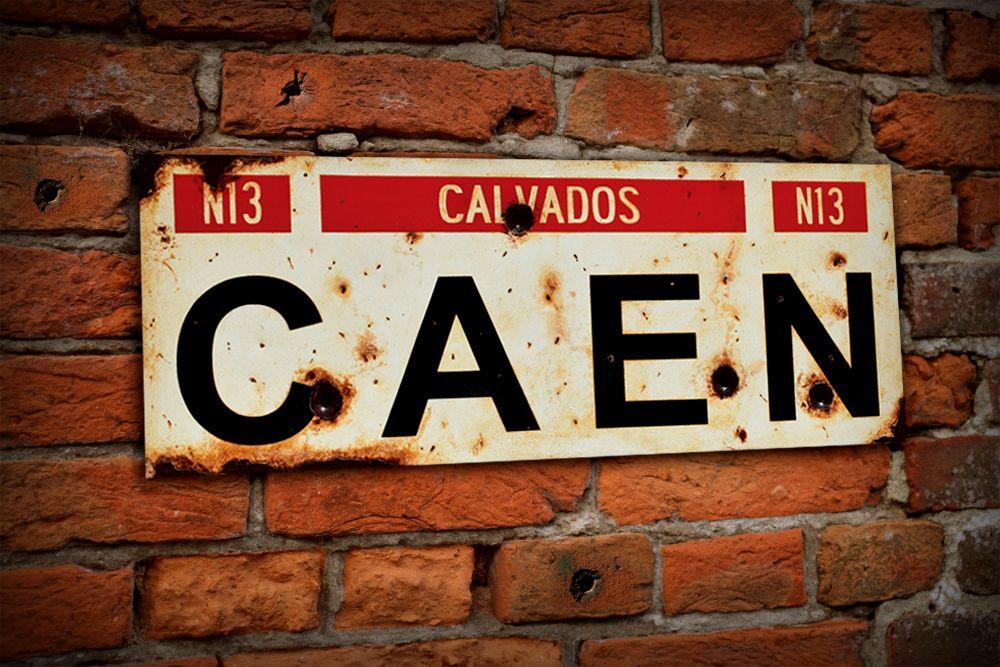 Caen Display Sign