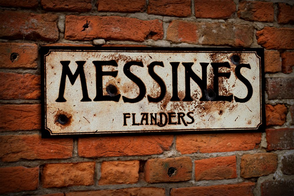 Messines Display Sign
