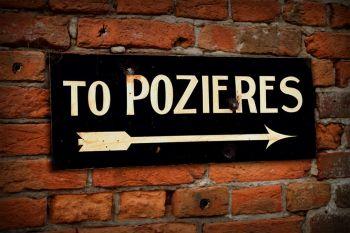 Pozieres Display Sign