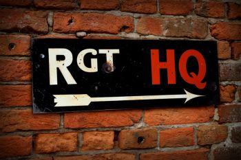 Rgt HQ Display Sign