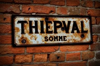 Thiepval Display Sign