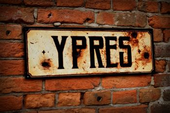 Ypres Display Sign