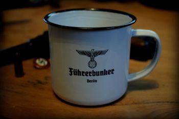Führerbunker Tin Enamel Mug