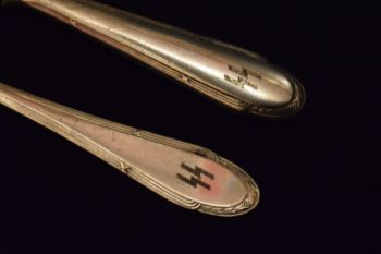 SS Knife and Fork - Vintage German Cutlery