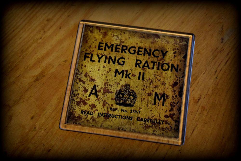 Emergeny Flying Rations - Acrylic Coaster