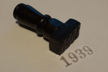 1939 Rubber Stamp
