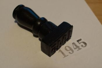 1945 Rubber Stamp