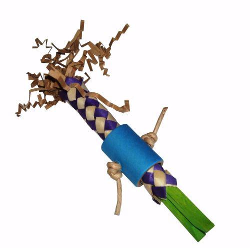 Zazu, Shredding Foot Toy for Medium to Large Parrots
