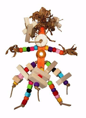 shredding parrot toys-munchkin rainbow