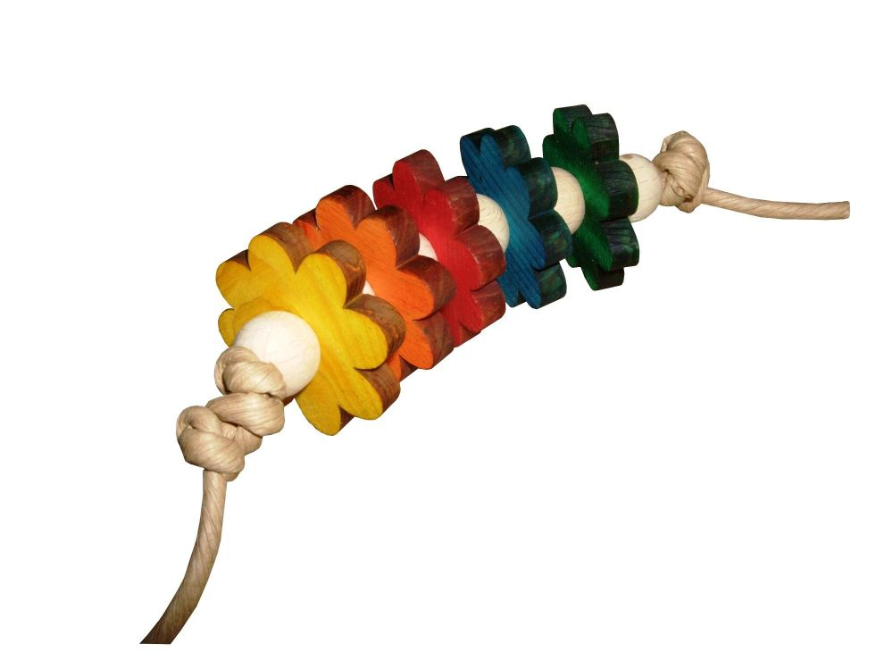 funky parrot foot toys - wildflower