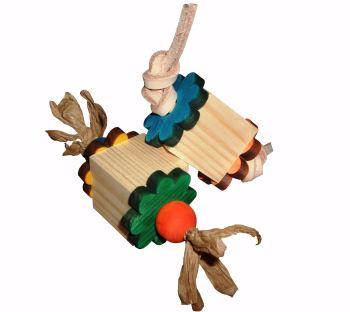 parrot foot toys-daisy bites - copy