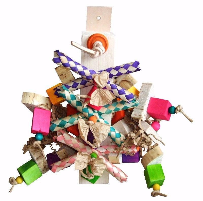 colourful shredding toys for galahs-kiwis choice