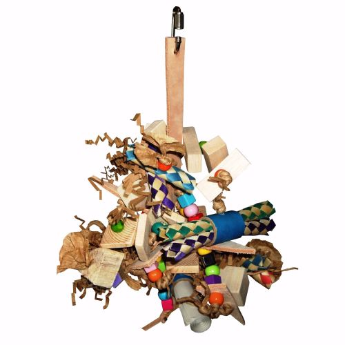 Barney, Colourful shredding toy for Mini to Small beaks