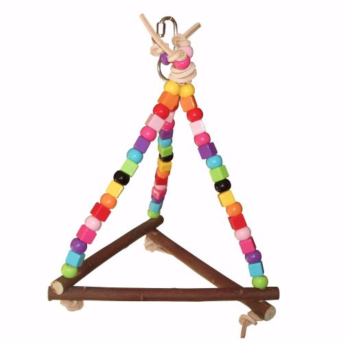 Budgie Swing Beaky Beady Maxi Pyramid for Mini to Small Birds