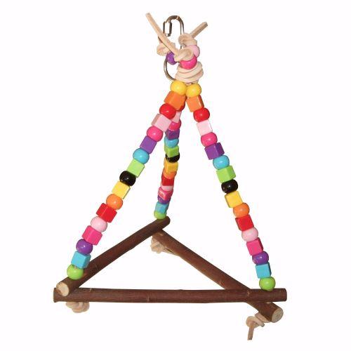 Budgie Swing Beaky Beady Midi Pyramid for Mini to Small Birds