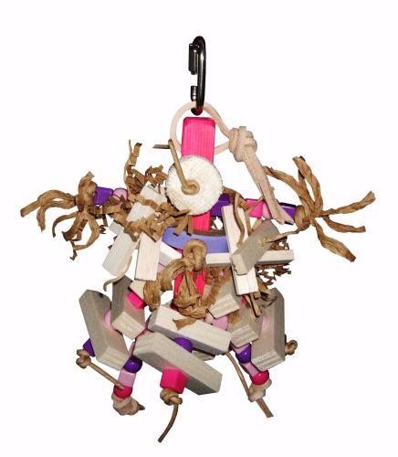 balsa shredding toys-munchkin pink