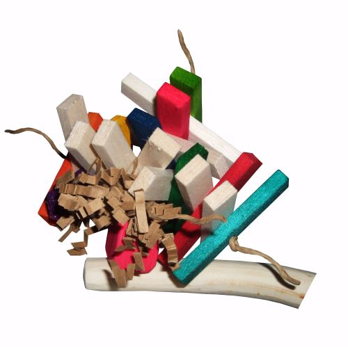Mini shredder or Toy Perch Refill Squiggles - Mini to Small Birds