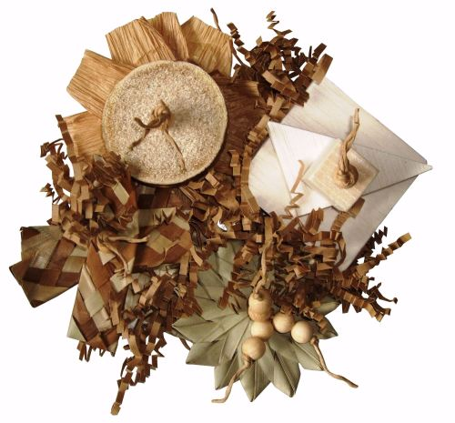 Autumn - cage mounted shredding mat